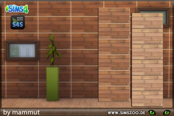 Blackys Sims 4 Zoo: Wood plant 2