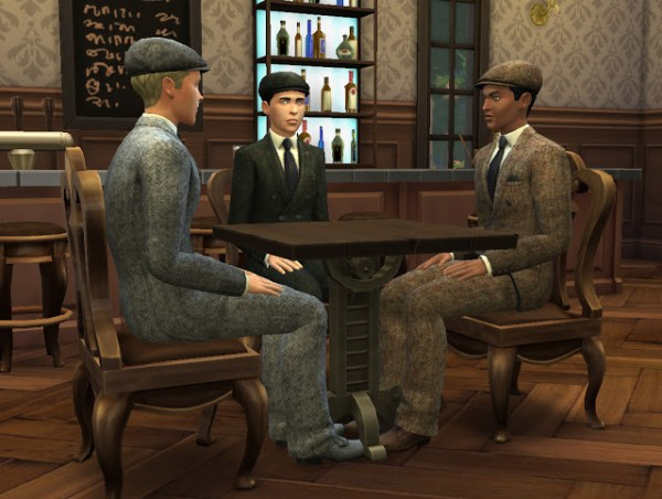 History Lover S Sims Blog Peaky Blinders Inspired Men S
