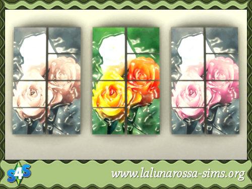 La Luna Rossa Sims: Flowers Beauty