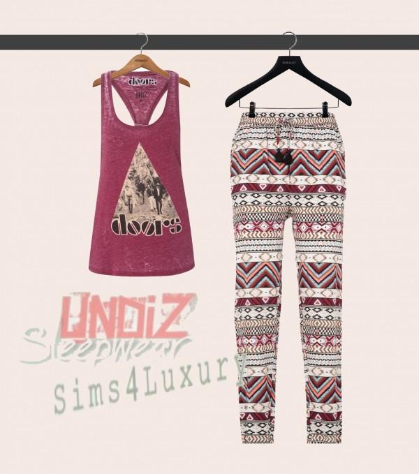 Sims4Luxury: Homewear Set 3
