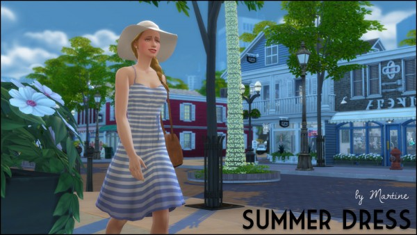 Martine Simblr: Summer dress