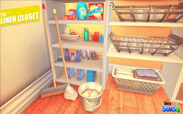 Onyx Sims The Linen Closet Sims 4 Downloads
