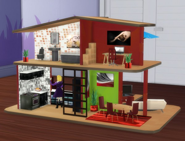 Pqsims4 Great Toys Doll House And Mr Potato Sims 4