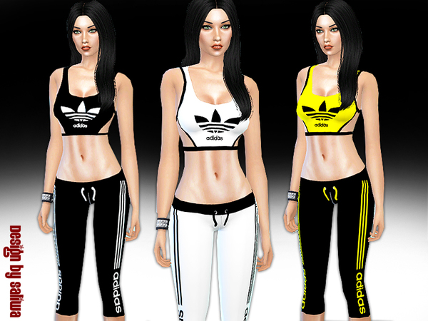 The Sims Resource: Tracksuit by Saliwa
