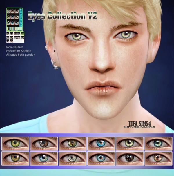 Tifa Sims: Eyes collection V2