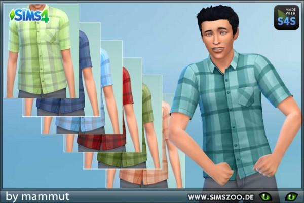 Blackys Sims 4 Zoo: Shirt Short Check