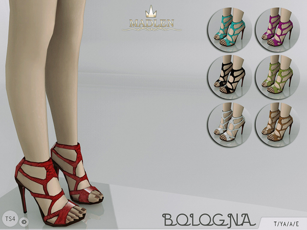 The Sims Resource: Madlen Bologna Shoes by MJ95