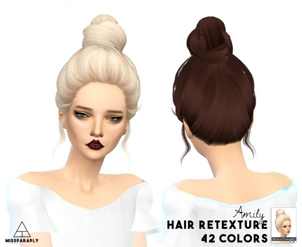 Miss Paraply: Hair retexture   Skysims hairs