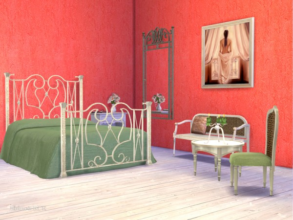 The Sims Resource: Paris Bedroom by ShinoKCR