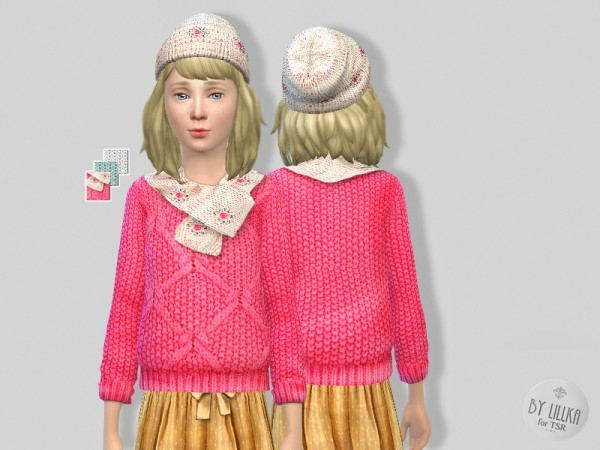 The Sims Resource: Pink in the Autumn   Set by Lillka