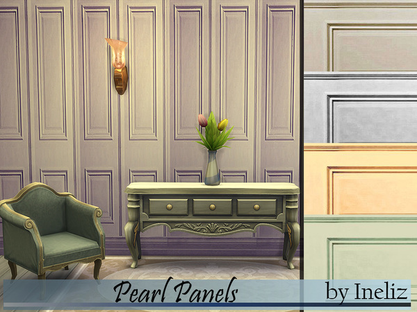 The Sims Resource: Pearl Panels by Ineliz