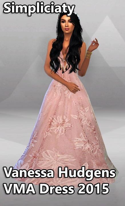 Simpliciaty: Vanessa Hudgens VMA Dress 2015