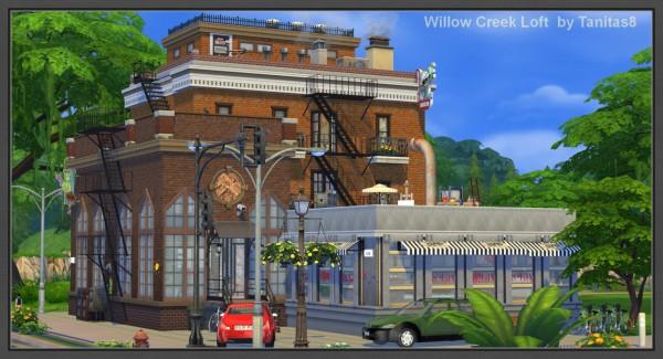 Tanitas Sims Willow Creek Loft Sims 4 Downloads