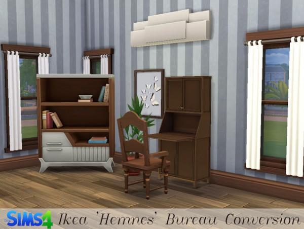 History Lovers Sims Blog: Hemnes Office