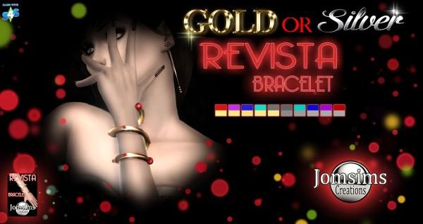 Jom Sims Creations: Revista bracelet
