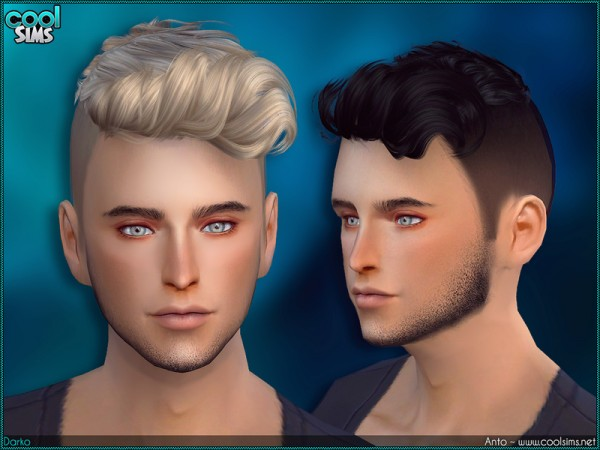 The Sims Resource: Anto   Darko hairstyle