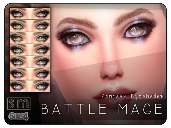 The Sims Resource: Battle Mage    Fantasy Eyeshadow