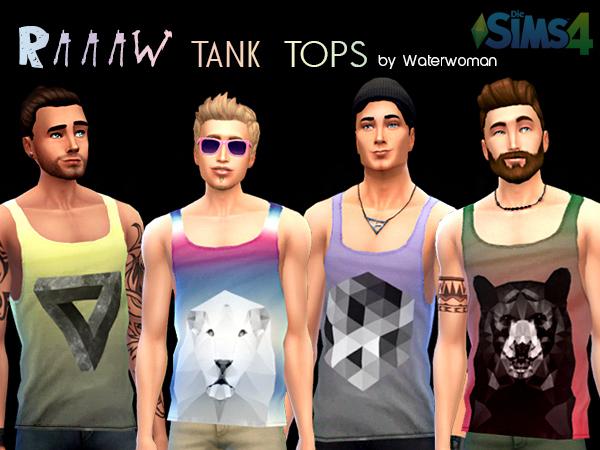 Akisima Sims Blog: RAAAW Tank Top