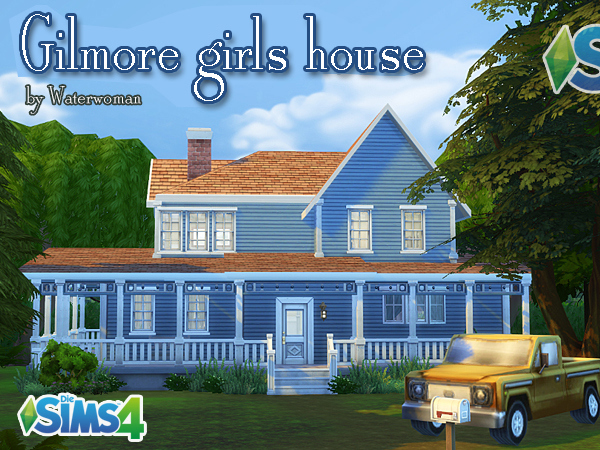 Gilmore Girls House akisima sims blog: gilmore girls house • sims 4 downloads