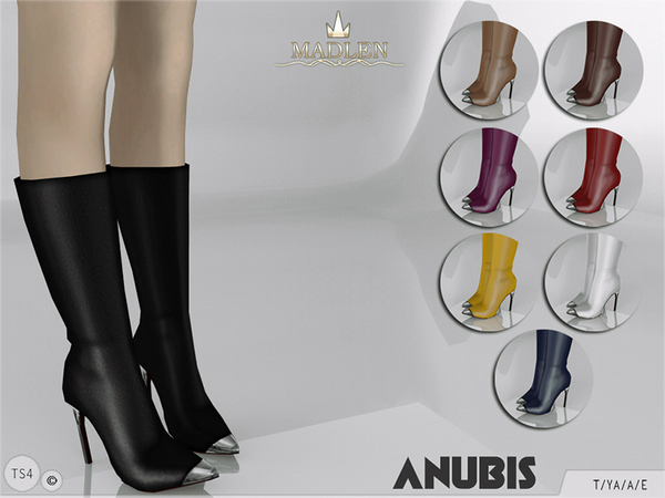 The Sims Resource: Madlen Anubis Boots by MJ95
