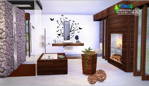 SIMcredible Designs: MODERNISM bathroom