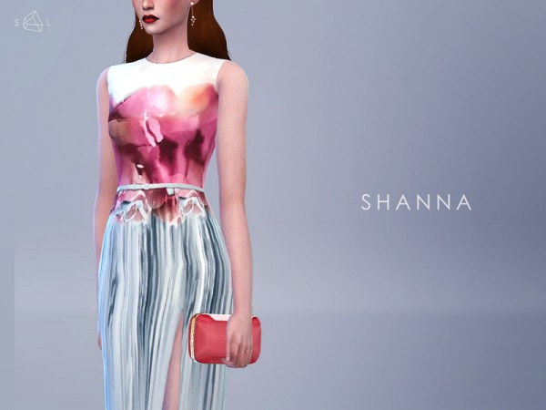 The Sims Resource: Stone Shaped Clutch   SHANNA by Starlord