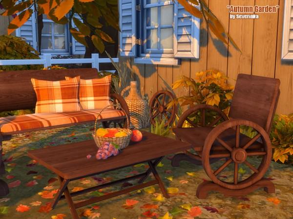 Sims by Severinka: Autumn garden