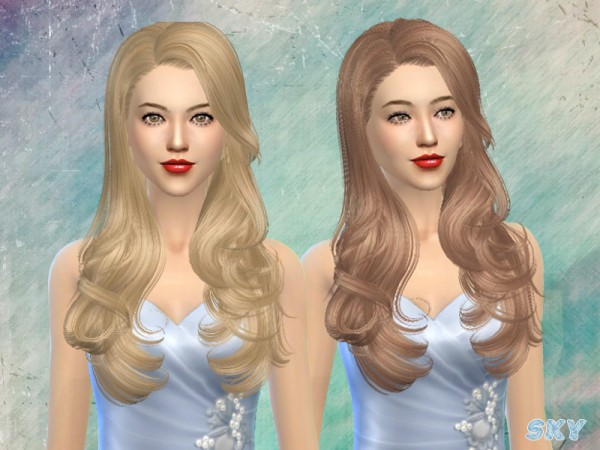 The Sims Resource: Hairstyle 084 by Skysims