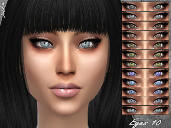 The Sims Resource: Eyes 10 by Sintiklia