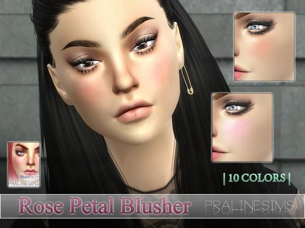 The Sims Resource: Rose Petal Blusher N09 by PralineSims