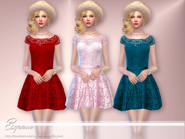 The Sims Resource: Vision Dress by EsyraM