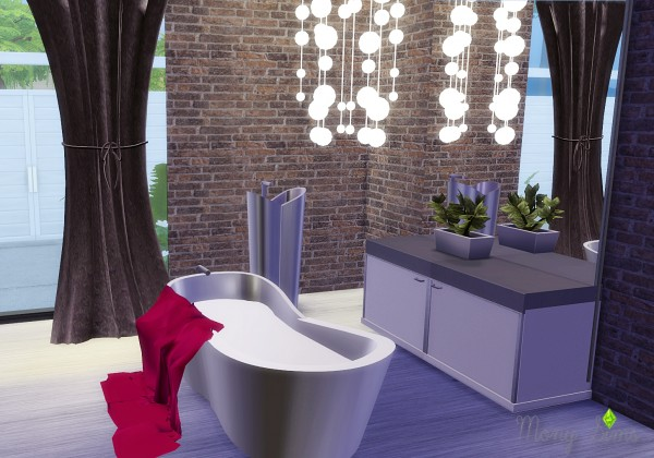 Mony Sims: Lizzies Bathroom converted from TS2 to TS4