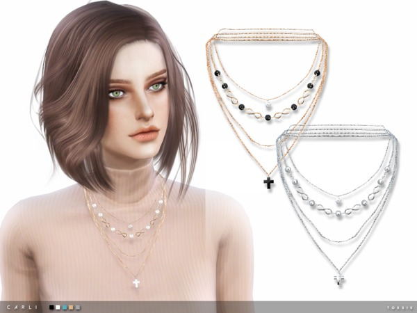 The Sims Resource: Carli Necklace by Taty