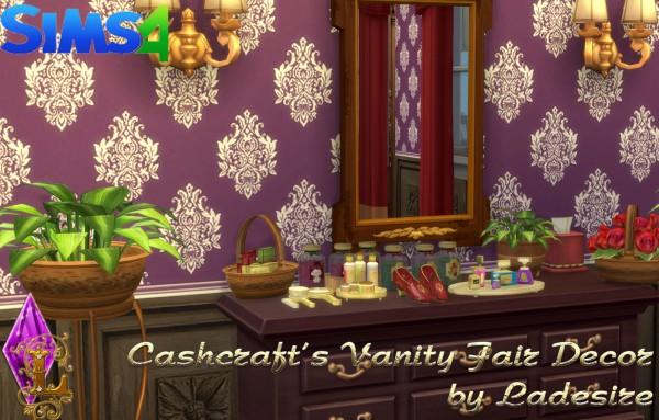 Ladesire Creative Corner: Cashcrafts Vanity Fair Decor