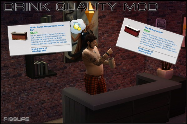 Mod The Sims: Bar Mod by Fissure