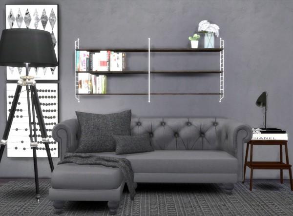 Hvikis: Lisen's String shelf