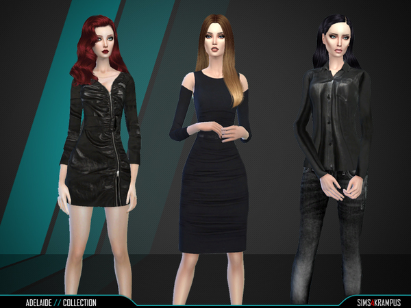 The Sims Resource: Adelaine Collection by SIms4Krampus