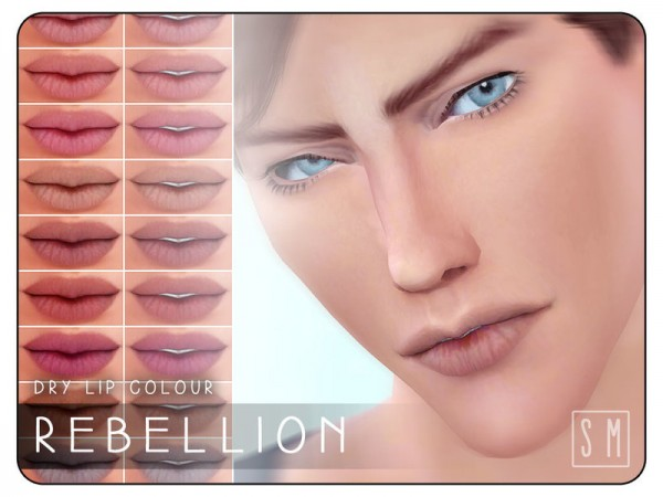 The Sims Resource: Rebellion    Dry Lip Colour by Screaming Mustard