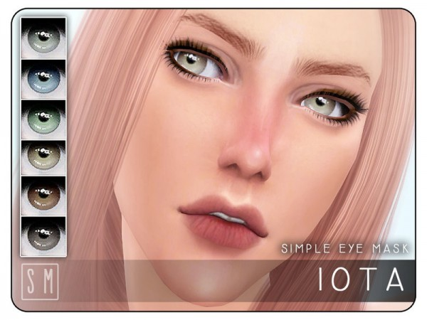 The Sims Resource: Iota   Simple Eye Mask by Screaming Mustard