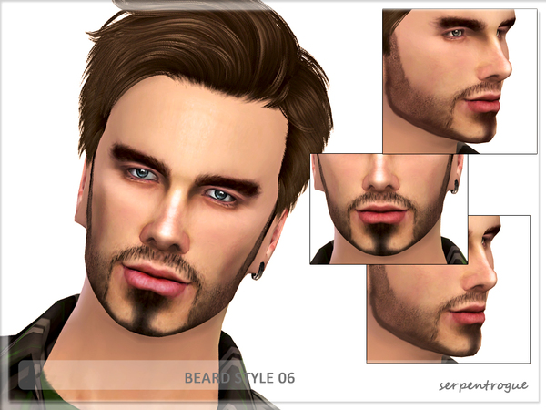 The Sims Resource: Beard Style 06 by Serpentrogue