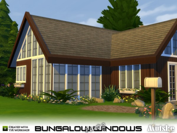 The Sims Resource Bungalow Windows Part 2 By Mutske