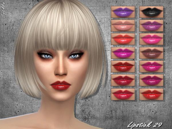 The Sims Resource: Lipstick 29 by Sintiklia