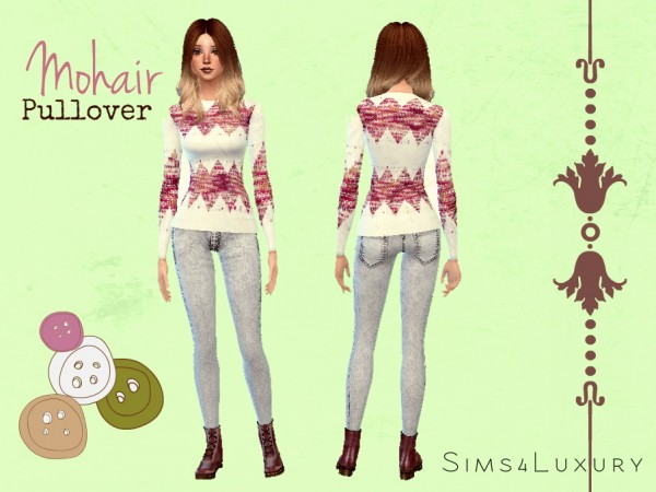 Sims4Luxury: Mohair pullover