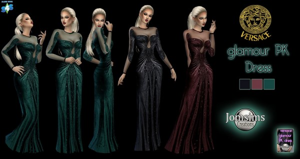 Jom Sims Creations: Long evening dress