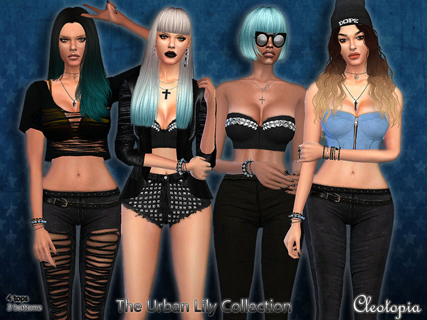 The Sims Resource: Set43  The Urban Lily Collection by Cleotopia