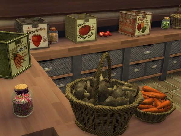 Sims Fans Country Bio Food Basket Amp Box By Kresten 22