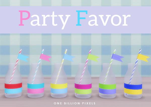 One Billion Pixels: Party Favor   part 1