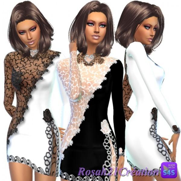 Sims Dentelle: Dentelle glamour dress
