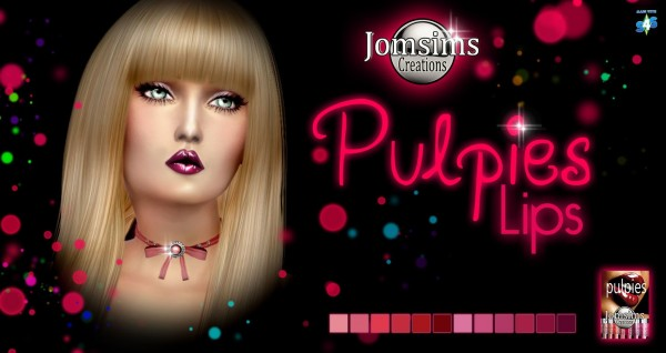 Jom Sims Creations: Pulpies lips