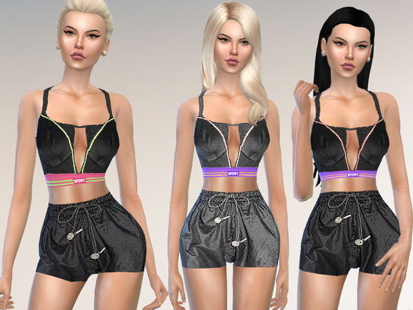 The Sims Resource: Set  Sportswear by Puresim